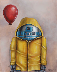 R2-D2 Georgie Original by Ashley Raine SOLD!
