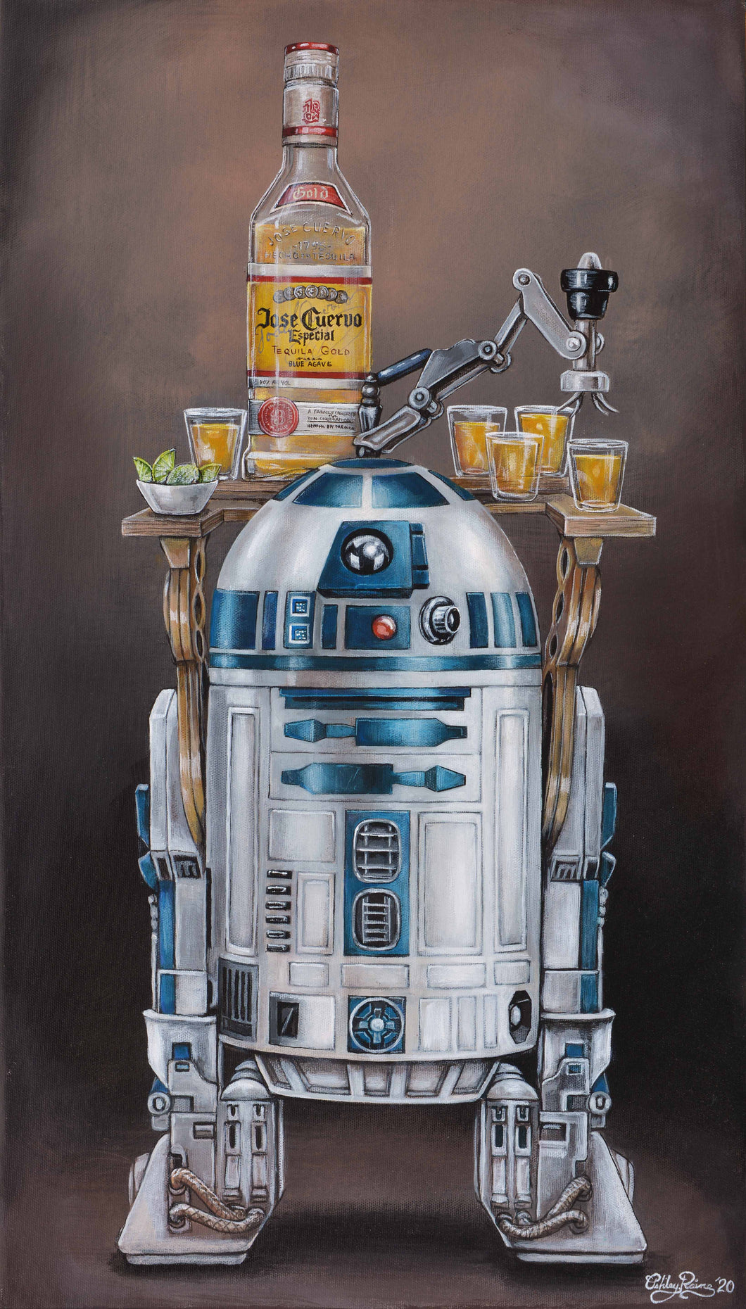 R2-Drank2 by Ashley Raine PAPER & CANVAS AVAILABLE