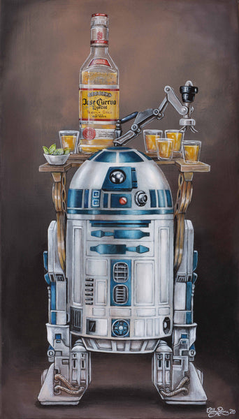 R2-Drank2 Original Painting by Ashley Raine SOLD!