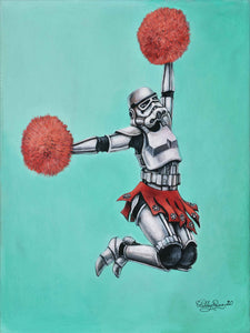 Vader! Vader! He's Our Man by Ashley Raine PAPER & CANVAS AVAILABLE