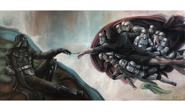 Creation of Vader by Ashley Raine