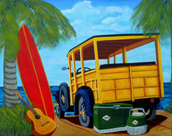 A Day at the Beach - Art Sleuth