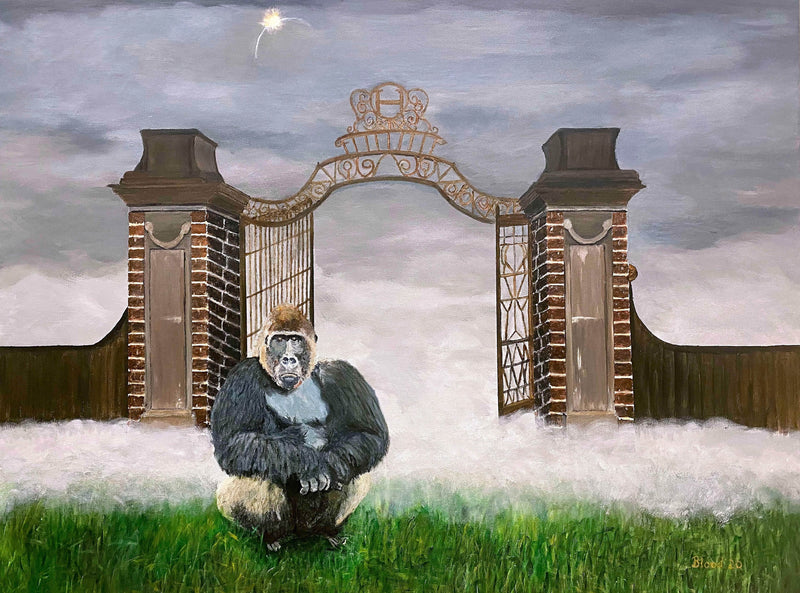 Gorilla at the Gate - Art Sleuth