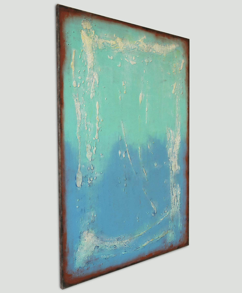 Once in Turquoise - Art Sleuth