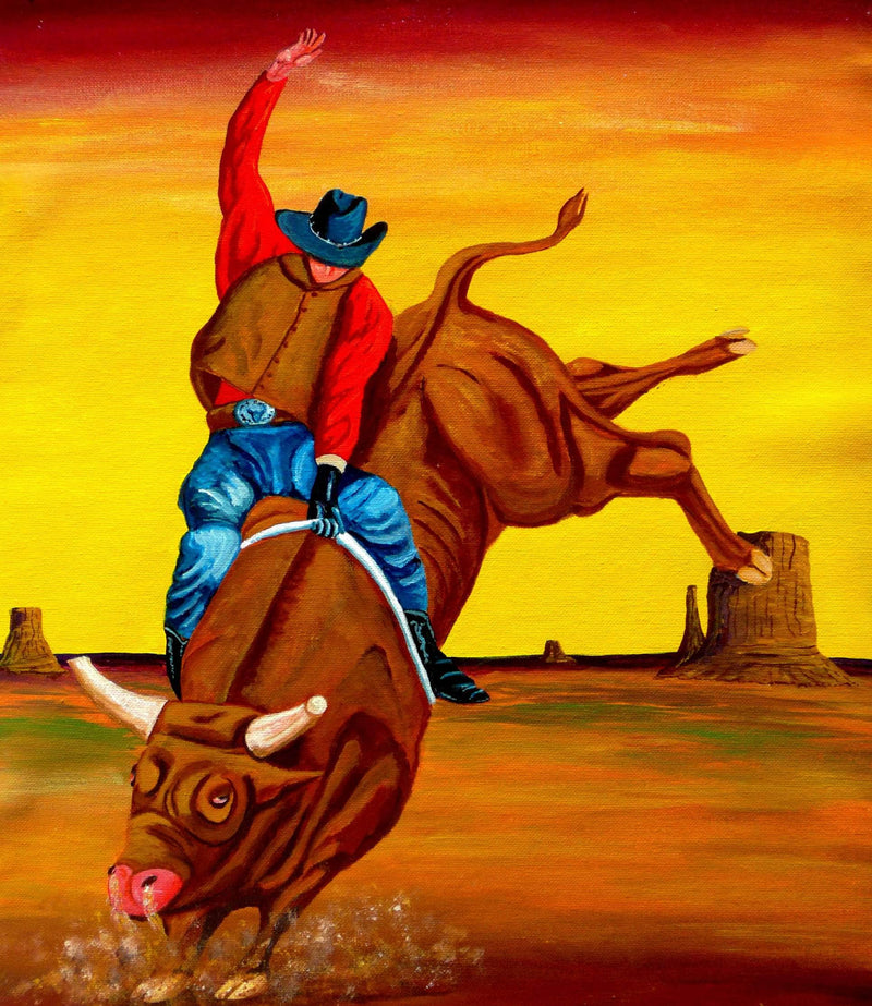 Eight Second Bull Ride - Art Sleuth