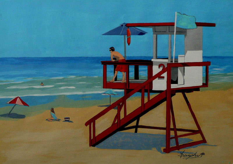 The Distracted Lifeguard - Art Sleuth