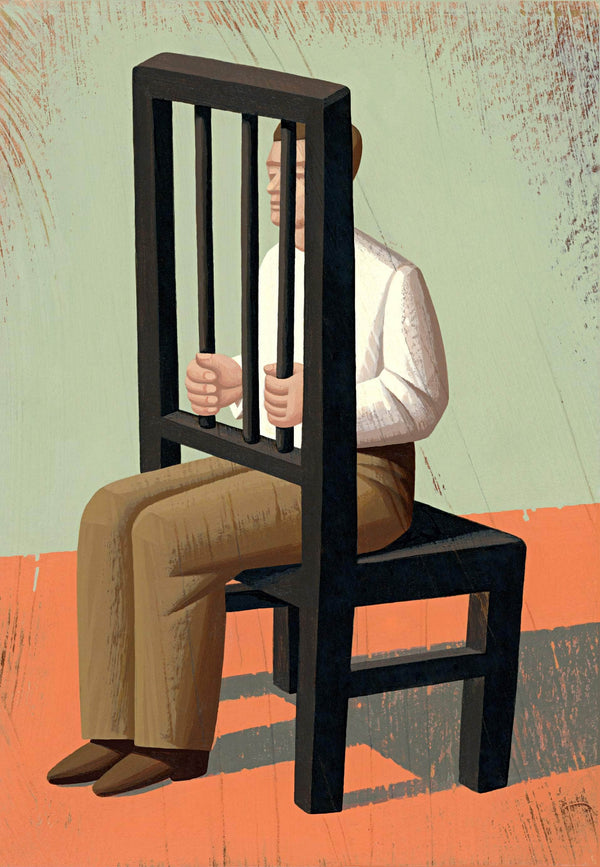The prison of his own device - Art Sleuth