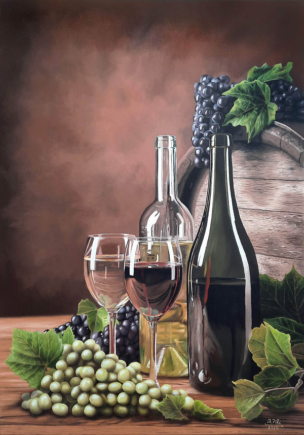 White wine or red wine? - Art Sleuth