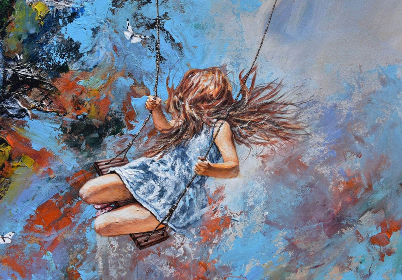 Swing over the edge of the heaven - Art Sleuth