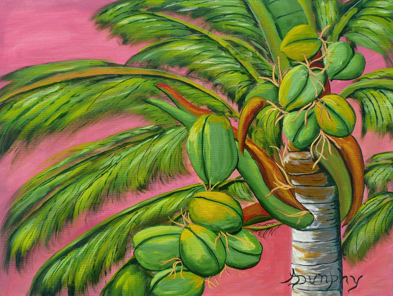 Coconut Palm - Art Sleuth