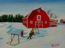 Barnyard Hockey - Art Sleuth