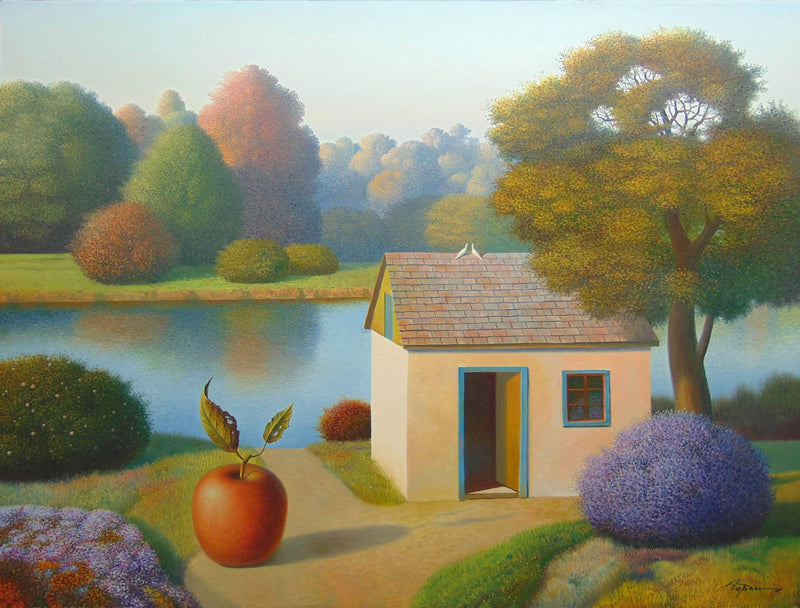 Season of ripe apples - Art Sleuth