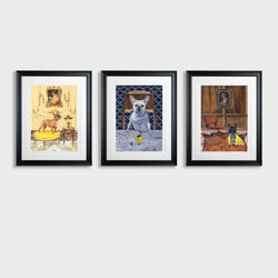 The Frenchie collection portfolio (limited edition print) - Art Sleuth