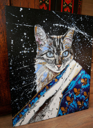 Portrait Royal Meoxit Cat Animal - Art Sleuth