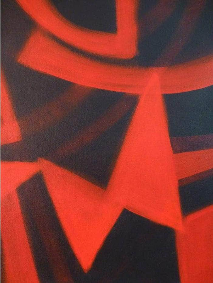 Red and Black (Finding Center) - Art Sleuth