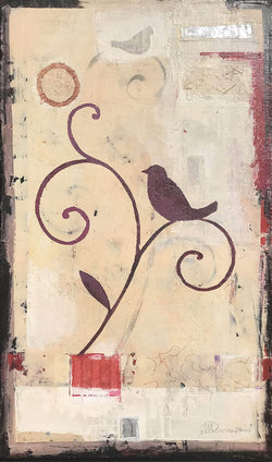 Birds on branches 2 - Art Sleuth
