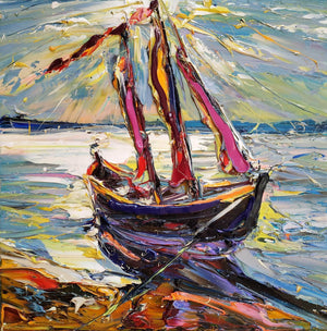 Sailboat - Art Sleuth