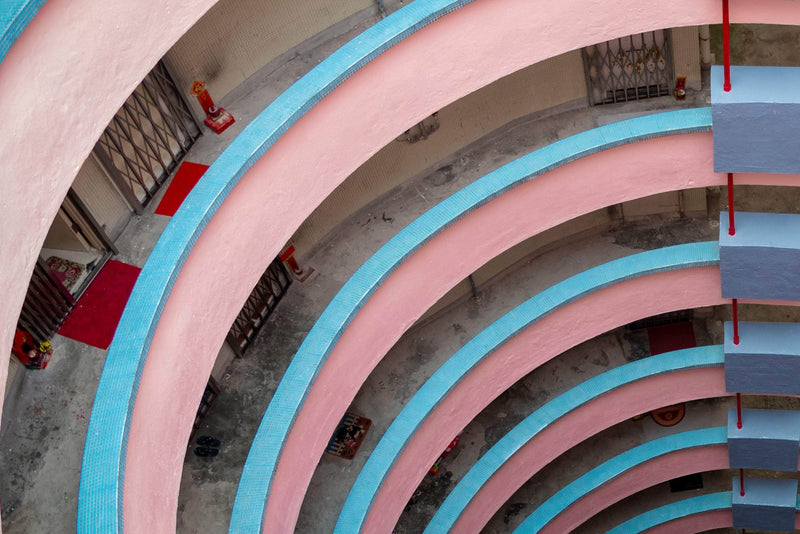 Pink & Blue Spiral - Limited Edition of 10 - Art Sleuth