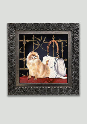 Bamboo (original), Framed - Art Sleuth