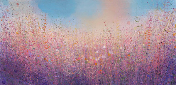 Chalky Misty Mauve, Early Morning - Art Sleuth