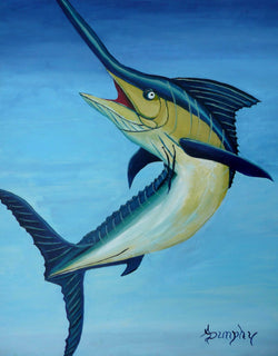 Pacific Blue Marlin - Art Sleuth