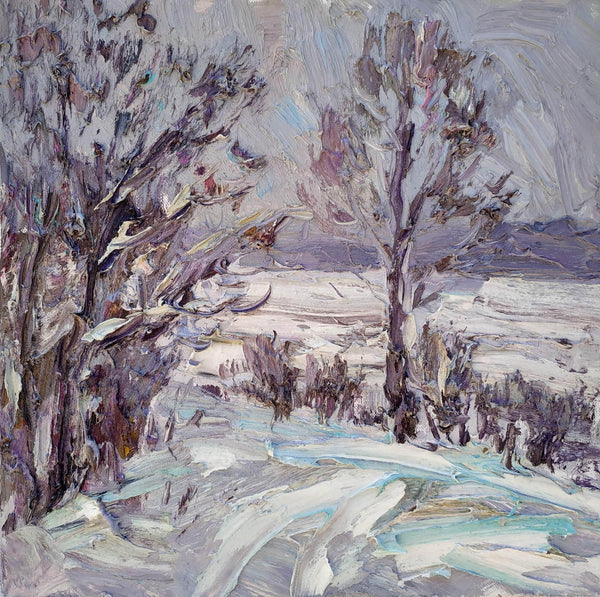 Winter trees - Art Sleuth