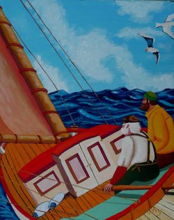 Day Sailing - Art Sleuth