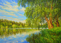 Willow by the water - Art Sleuth
