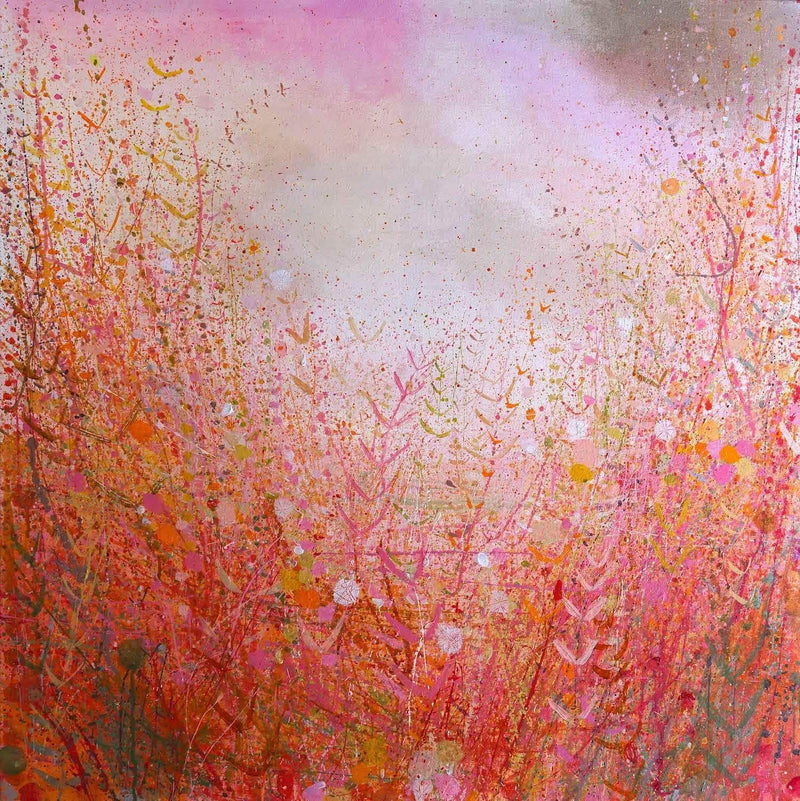 Pink Red Bronze November - Art Sleuth