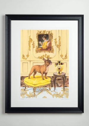 A dogue by any other name (limited edition print), grande size - Art Sleuth