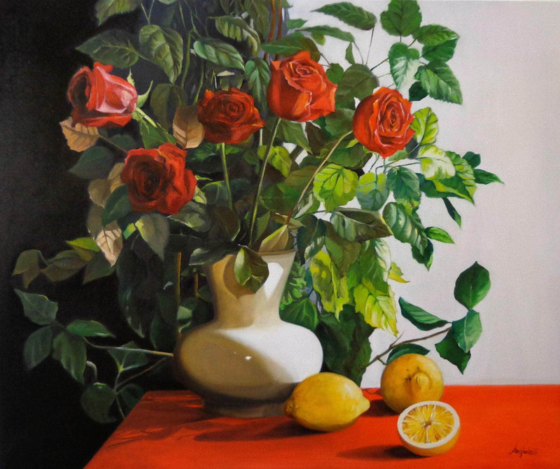 Red Roses - Art Sleuth