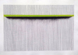 Untitled (Green on Black) - Art Sleuth