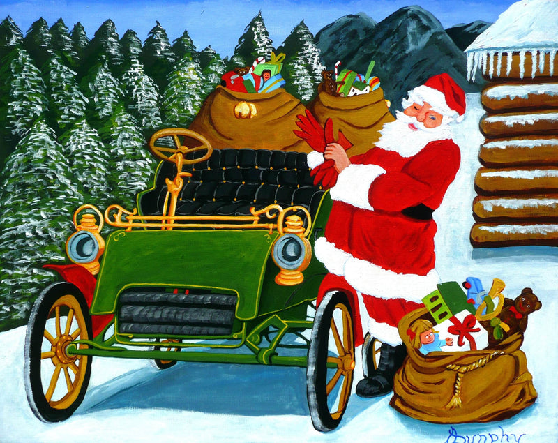 The christmas Ride - Art Sleuth