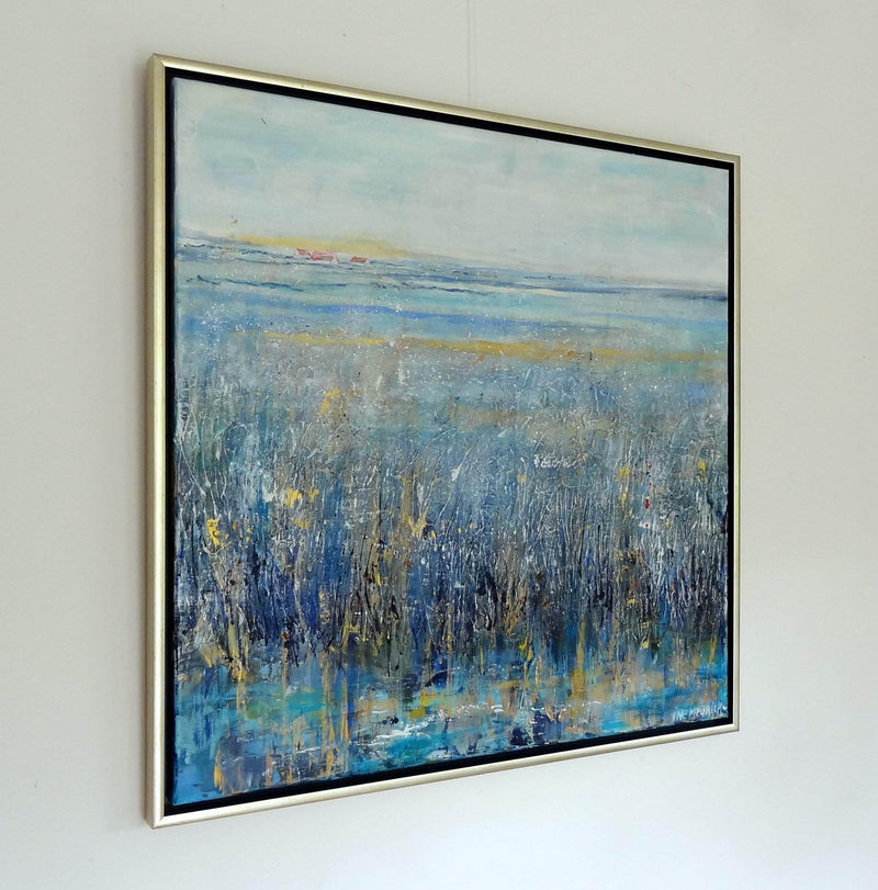 Frozen Morning (Framed) - Art Sleuth