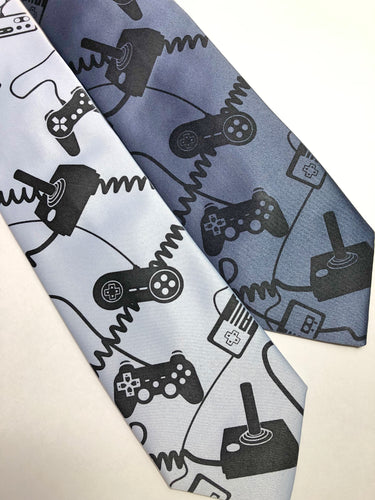 Video Game Controllers Necktie. Control Freak tie - HIDE & LACE