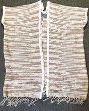 Load image into Gallery viewer, Srey Long Vest - Natural - HIDE & LACE