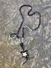 Load image into Gallery viewer, Howlite Star Necklace - HIDE & LACE