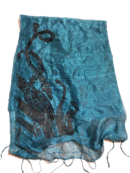 Octopus Tentacles Silk Scarf - HIDE & LACE