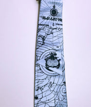 Load image into Gallery viewer, Bermuda Triangle Necktie - HIDE & LACE