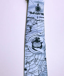 Bermuda Triangle Necktie - HIDE & LACE