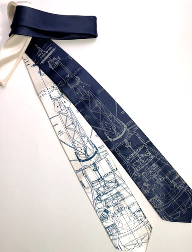 Project Mercury Necktie. NASA Space Program Tie - HIDE & LACE