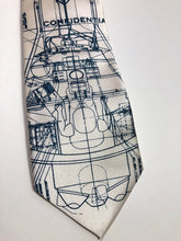 Load image into Gallery viewer, Project Mercury Necktie. NASA Space Program Tie