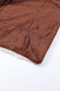 Dark Brown - Sherpa Blanket