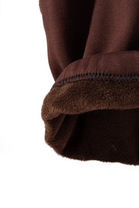 Brown - Fur Lined Leggings