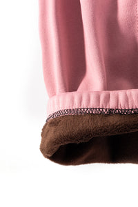 Soft Pink - Fur Lined Leggings