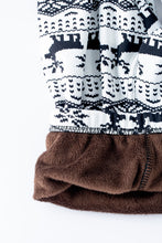 Load image into Gallery viewer, Retro Christmas - Fur Lined Leggings