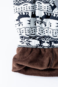 Retro Christmas - Fur Lined Leggings