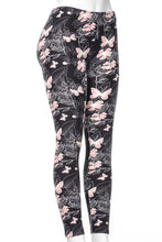 Load image into Gallery viewer, Pink Butterfly - All Season Leggings