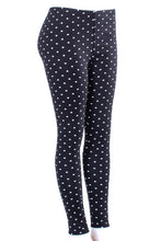 Load image into Gallery viewer, Mini Polka Dots - Fur Lined Leggings