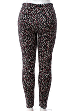 Load image into Gallery viewer, Flower Field - Fur Lined Leggings